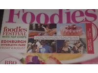 FRIDAY FOODIES FESTIVAL 4 AUG - 2 TICKETS AVAILABLE!