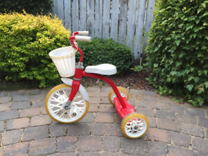 Red & White Tricycle