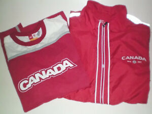 Team Canada Cycling or Running Sports Shirt and Jacket