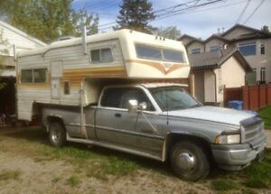 1997 Dodge Dually w/ Vanguard Camper