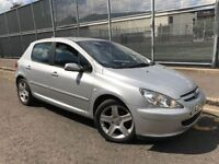 PEUGEOT 307 1.6 HDI 110 SXI = DIESEL = £890 ONLY =