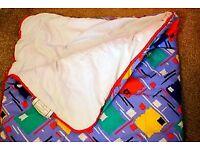 Single sleeping bag for camping tents caravans touring hiking etc