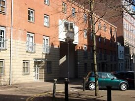 Third/top floor flat, 2 double bedroom, f/f, separate kitchen, with parking, Mount Stuart Square