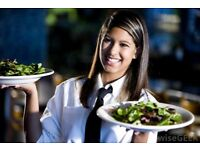 Delivery driver and waiting staff
