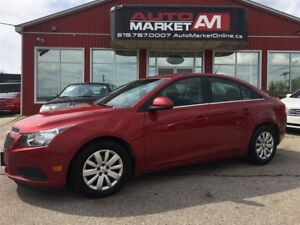 2011 Chevrolet Cruze LT Turbo, WE APPROVE ALL CREDIT