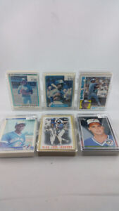 Vintage 1980s Toronto Blue Jays Cards + Free Delivery
