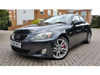SUPERB LEXUS IS 250 SPORTSUNROOF ALLOYS FULL HISTORY 2 X KEYS 1 OWNER NEW MOT PX