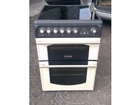 6 MONTHS WARRANTY Cannon 60cm, double ovne electric cooker FREE DELIVERY
