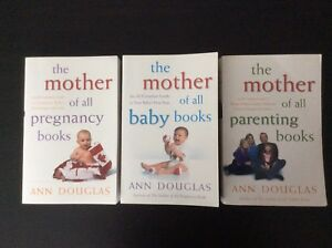 Pregnancy, baby and parenting books