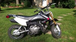 2008 dr z 70 new battery runs great