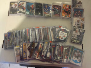 Hockey cards- Inserts and Numbered cards