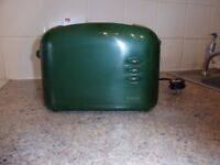 HADEN HARMONY 2 SLICE TOASTER. CONDITION AS NEW - USED ONCE. BOXED