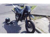 Sinnis Apache 125 125cc motorbike long MOT 19k kilometers