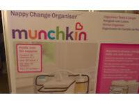 MUNCHKIN NAPPY CHANGE ORGANISER- NEW