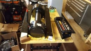 Willys jeep 8,000lb PTO winch and jeep frame