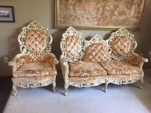 Sofa set and coffee table set
