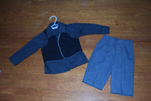 Boys dress shirt, pants and vest (6 months)