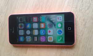 iphone 5c with virgin  ( bell) 140 ono
