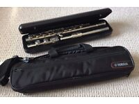 YAMAHA YFL 211 ...SILVER PLATED FLUTE - AS NEW -£275 ONO