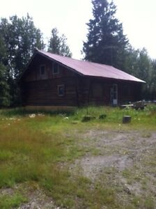 Log home 160 acres