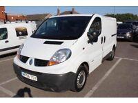 Renault Trafic, Vauxhall vivaro and Nissan PRIMASTAR vans wanted