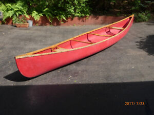 17 ft FRP Canoe