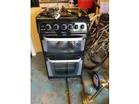 Hot point cannon gas cooker