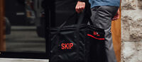 SKIPTHEDISHES ● FLEXIBLE HOURS ● FOOD DELIVERY ● PAID WEEK