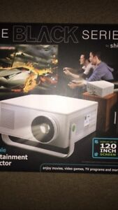 NEW Black Series Portable Entertainment Projector