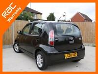 2008 Daihatsu Sirion 1.3 SE 5 Door Auto Climate Control Parking Sensors Alloys D