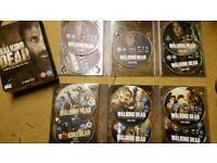 Walking Dead seasons 1-3 dvds