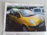 daewoo matiz car