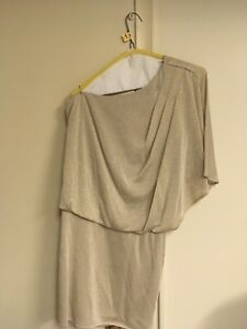 Gold one Shouldered dress