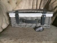 Grey basket / case NEW