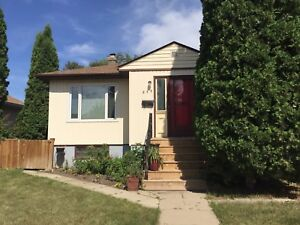 Two bedroom top half of a house for rent sept 1