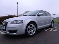 2008 AUDI A3 TDI E - NEW MOT 12.06.17 - NEW CAMBELT - NEW FRONT BRAKE PADS - LOW MILEAGE - CHEAP TAX