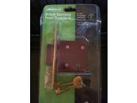 British Standard Front Door Lock - 5 Lever Deadlock - BS 3621 Insurance Approved