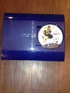 BLUE PS3 WITH 11 GAMES