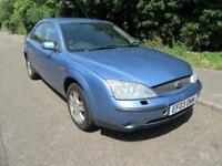 2003 FORD MONDEO 2.0TDCI 130 ZETEC-S MANUAL DIESEL 5 DOOR HATCHBACK