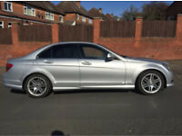 MERCEDES BENZ C220 AMG SPORT CDI AUTO SALOON FSH EXCELLENT CONDITION