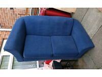 Blue sofa freee