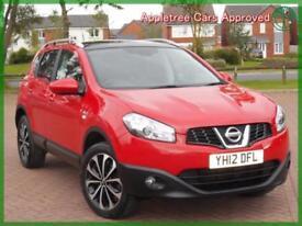 2012 (12) Nissan Qashqai 1.6 CVT N-TEC+ Automatic
