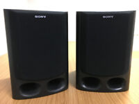 Sony 3-way bass reflex bookshelf loudspeakers, 280 H x 200 W x 240 D, removable grilles