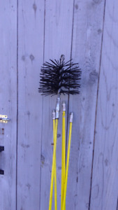 Chimney Brush with 5 rods-SOLD PPU
