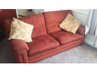 Two and three seater sofa's for sale