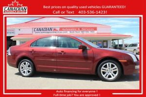2006 Ford Fusion SEL 3.0L V6 LOADED! $138/MONTH OAC