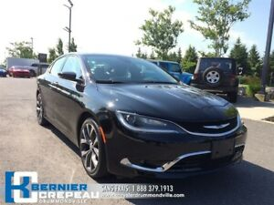 2016 Chrysler 200 C **GPS, TOIT PANO, CAMERA + WOW!!