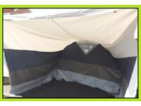 Caravan Awning bedroom Annexe2 Extension REDUCED.