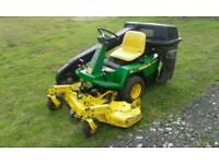 "John Deere F525 Out Front Ride on Mower 48"" Cut Kawasaki Engine"