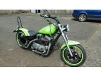 Harley chopper bobber